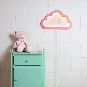 Applique Murale Nuage : applique murale nuage cloudy mood light rose led l43cm h26cm atelier pierre luminaires ~ Teatrodelosmanantiales.com Idées de Décoration