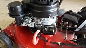Snapper 21 U0026quot  Mower Engine Swap - Fj180v Kai