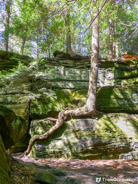 cuyahoga ledges valley park trail national hemlock trekohio cvnp