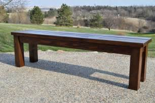 Rustic Mudroom Bench by Kruse S Workshop Simple Indoor Outdoor Rustic Bench Plan