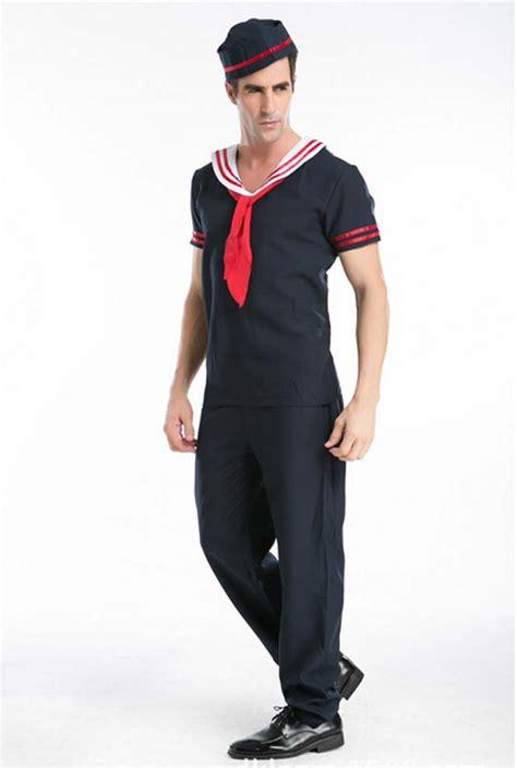 Popular Sailor Outfit Men-Buy Cheap Sailor Outfit Men lots from China Sailor Outfit Men ...