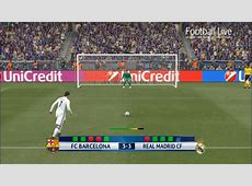 PES 2017 Barcelona vs Real Madrid Penalty Shootout