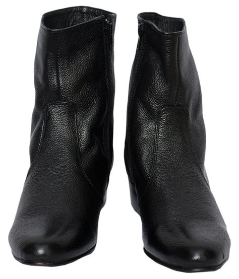 Find the best price from over 350+ stores keep track of what you want to buy Zeppo Bugatti Black Boots - Buy Zeppo Bugatti Black Boots Online at Best Prices in India on Snapdeal