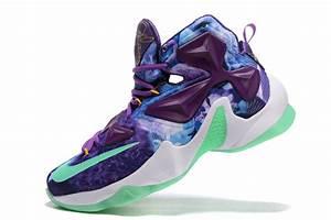 Nike LeBron 13 Purple Blue Shoes For Sale | Air Jordans 2017