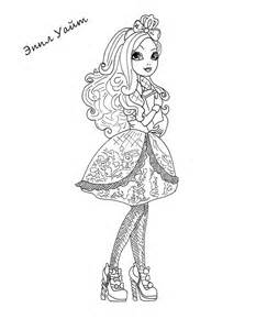 Ever After High Coloring Pages to Print
