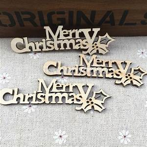popular chipboard letter buy cheap chipboard letter lots With merry christmas wooden letters