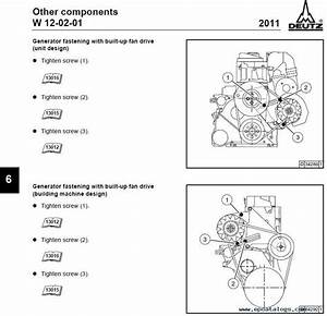 Deutz 2011 Engine  Repair Manual  Engines