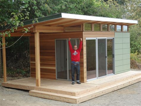 backyard shed plans this vashon island client works from home at his modern