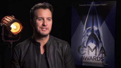 Luke Bryan Behind The Scenes Cma Awards Interview