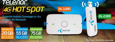 Telenor 4G Wingle and 4G Mobile WiFi Hotspot Price in Pakistan