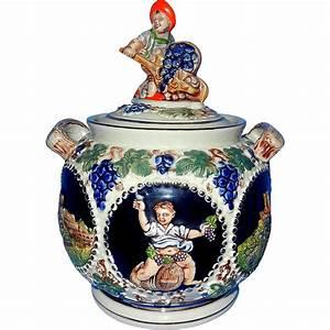 Vintage, Gerz, 2, Liter, Stoneware, Figural, Cookie, Jar, From, Mygrandmotherhadone, On, Ruby, Lane
