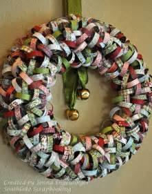 southlake scrapbooking wreath