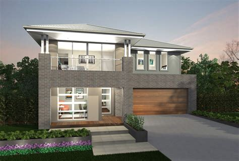 two houses augusta two storey house design canberra region