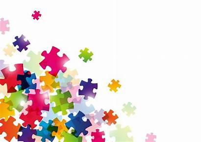 Puzzle Background Jigsaw Vector Vectors Classroom Depositphotos