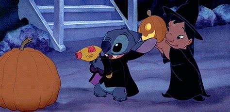 Lilo And Stitch Halloween by Funny Lilo And Stitch My Gifs Film Disney Cartoon