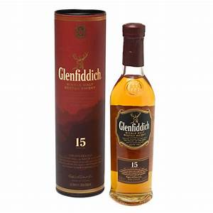 Glenfiddich 15 yr Single Malt Scotch Whisky - 20cl | Just ...