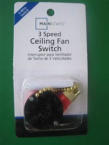 Chapter  Mainstays 3 Speed    4 Wire Ceiling Fan Switch