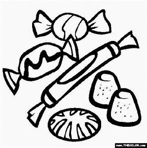 get coloring pages - candy coloring pages halloween festival collections