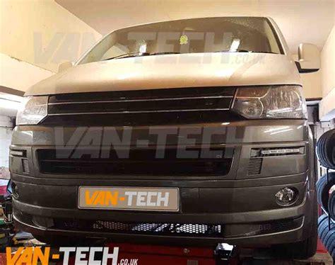 volkswagen van front vw t5 lower spoiler front end conversion styling pack