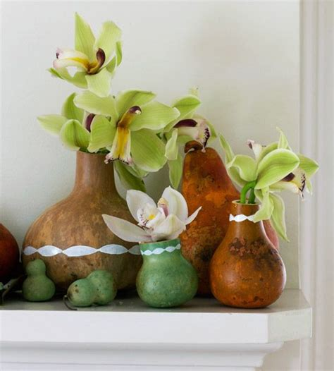 decorating gourds dried gourds make vases and together a stunning