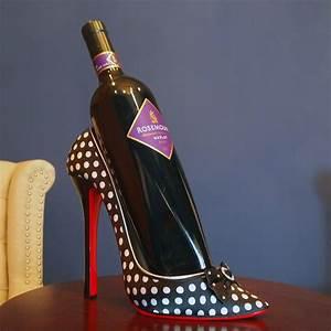 Elizabella, High, Heel, Wine, Bottle, Holder