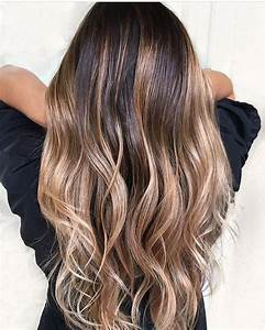 Ombré Hair Chatain : 113 best ombre hair balayage chatain clair ou blond ~ Dallasstarsshop.com Idées de Décoration