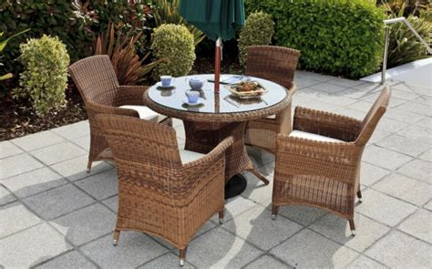 Rattan Gartenmöbel  Reizvolle Außenmöbel Für Den Garten