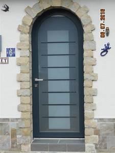 Rideau Porte D Entrée : pose porte d entr e cintr e vitree fermetures louasse ~ Dailycaller-alerts.com Idées de Décoration