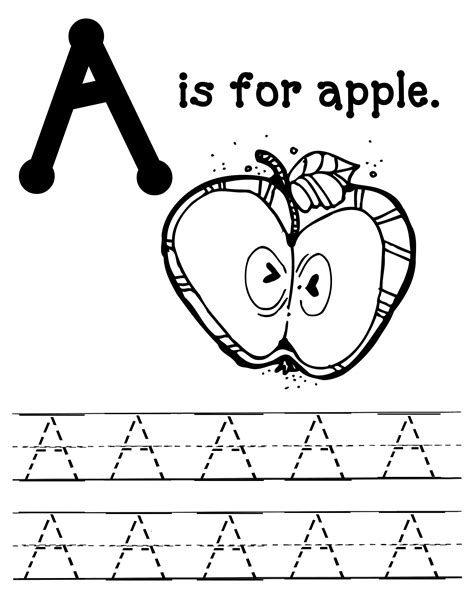 a is for apples packet oopsey