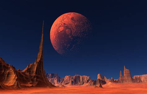 Free Download Wallpaper Space Landscape Planet Wallpapers