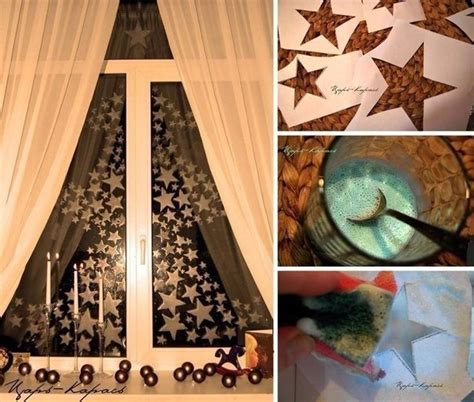 diy christmas window decorations diy hanging window decorations that will brighten up your day