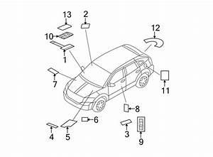 Dodge Caliber Label  Info  Tire