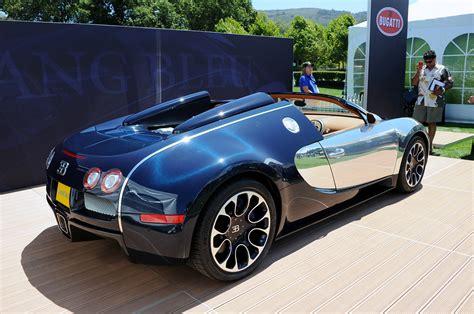 Bugatti Veyron Grand Sport Sang Bleu Em Imagens Ao Vivo