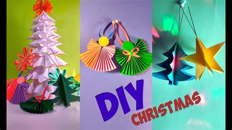 diy christmas decorations ideas  paper simple