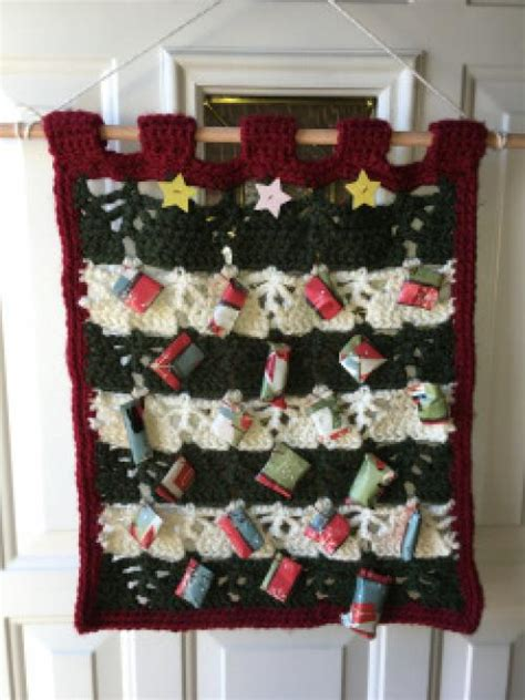 holiday gifting crochet advent calendar ladies lifestyle