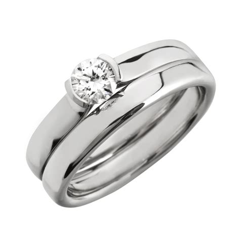 stunning wedding set rings unique engagement ring