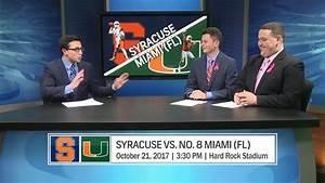 'Cuse Countdown Previews Football vs. Miami (FL) - YouTube