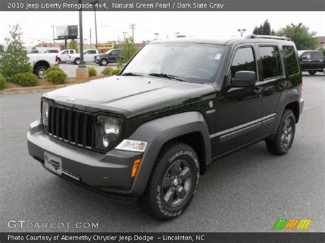 green jeep liberty renegade natural green pearl 2010 jeep liberty renegade 4x4