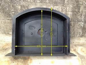 Pizza Oven Door - Wells Reclamation