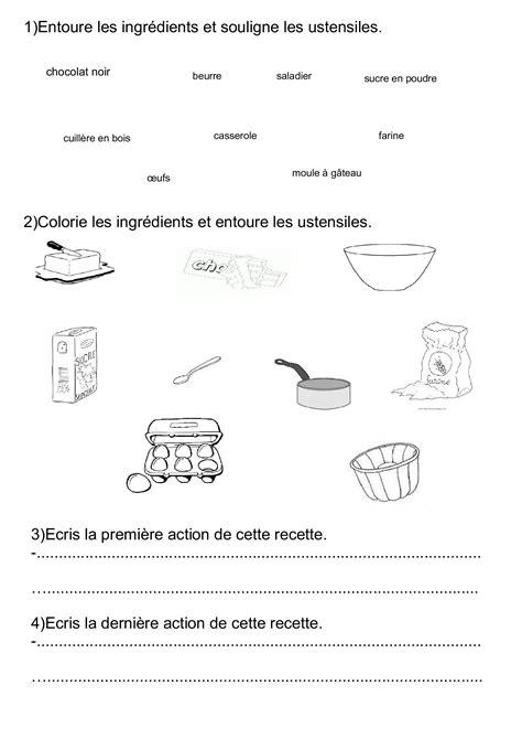 exercice recette de cuisine écrire une recette ce1 ce2 cm1 productions d 39 écrits écrire