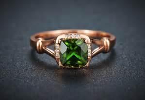 emerald gold engagement rings beautiful 1 carat cushion cut emerald and engagement ring in gold jeenjewels