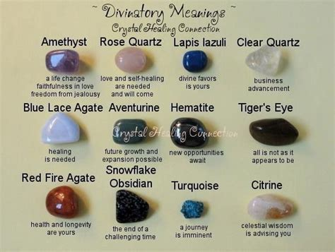 symbolism of rocks divinitory meanings of crystals rocks gems pinterest crystals