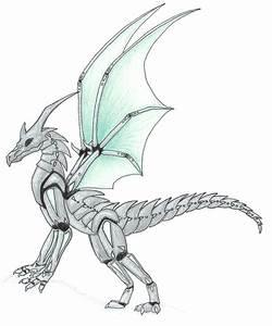 Mecha-Dragon by ChaoticBlueDragon on DeviantArt
