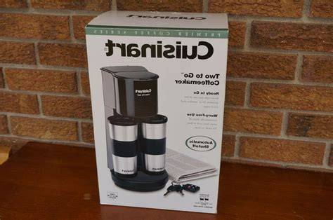 Welcome to the coffee maven's cuisinart coffee maker buyer's guide. Cuisinart TTG-500 Two-to-Go Coffeemaker