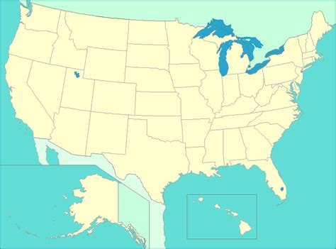 united states map map   states capitals major