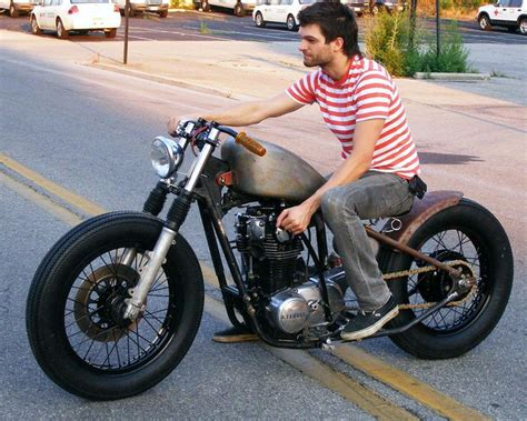 Motorcycle, Yamaha Motorcycles, Bobber