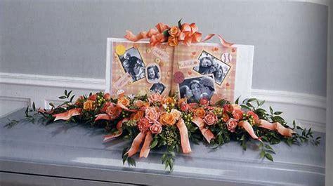 unique funeral flower arrangements  gen memorials