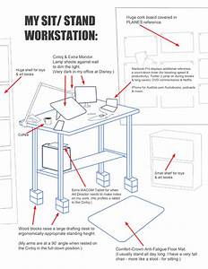 Exercise At Your Desk  How My Standing Workstation Works