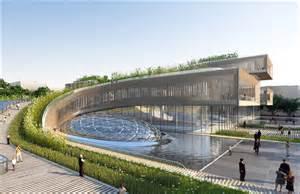 architectural plan gallery of città della scienza masterplan predicts future