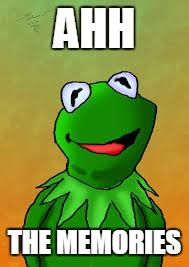 Ahh Meme - image tagged in kermit the frog lady gaga imgflip